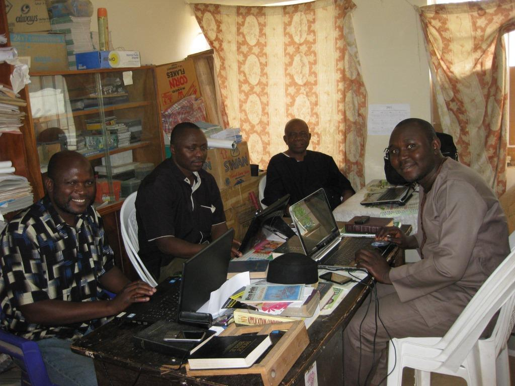 Cross section of Ngas Bible Translators as at May 2015